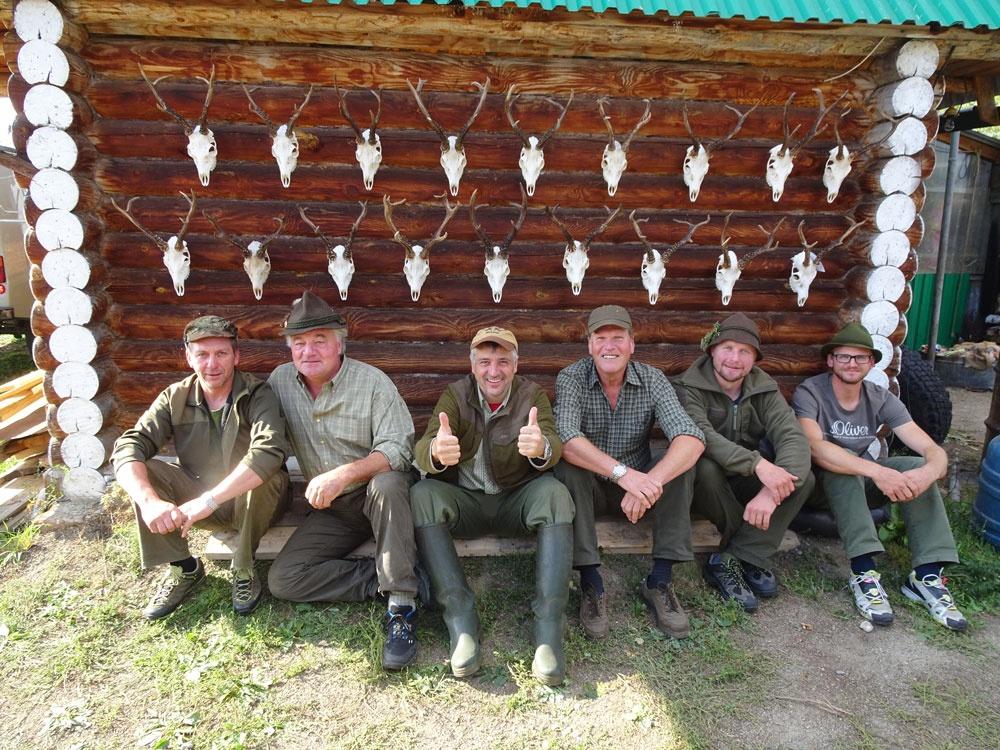 RR Weltweites Jagen | Sibirische Rehböcke