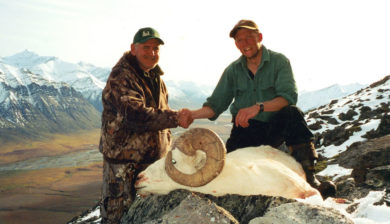 Jagen in Alaska