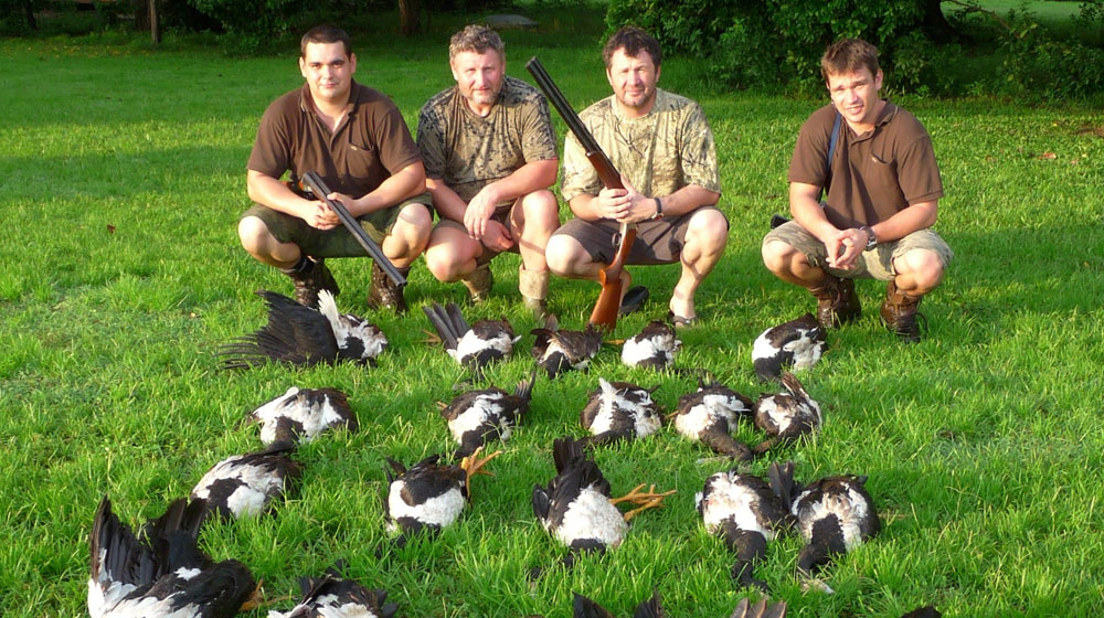 Jagen in Australien