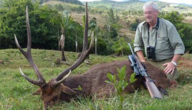 Jagen auf Mauritius
