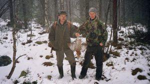 Jagen in Schweden
