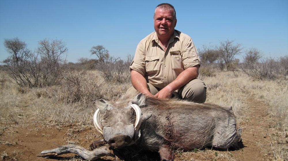 Jagen in Südafrika