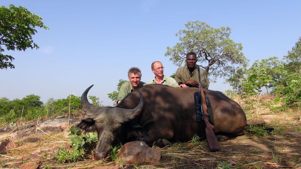 RR Jagen in Benin